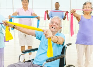 How Can You Keep Exercise from Getting Boring to Your Elderly Loved One?