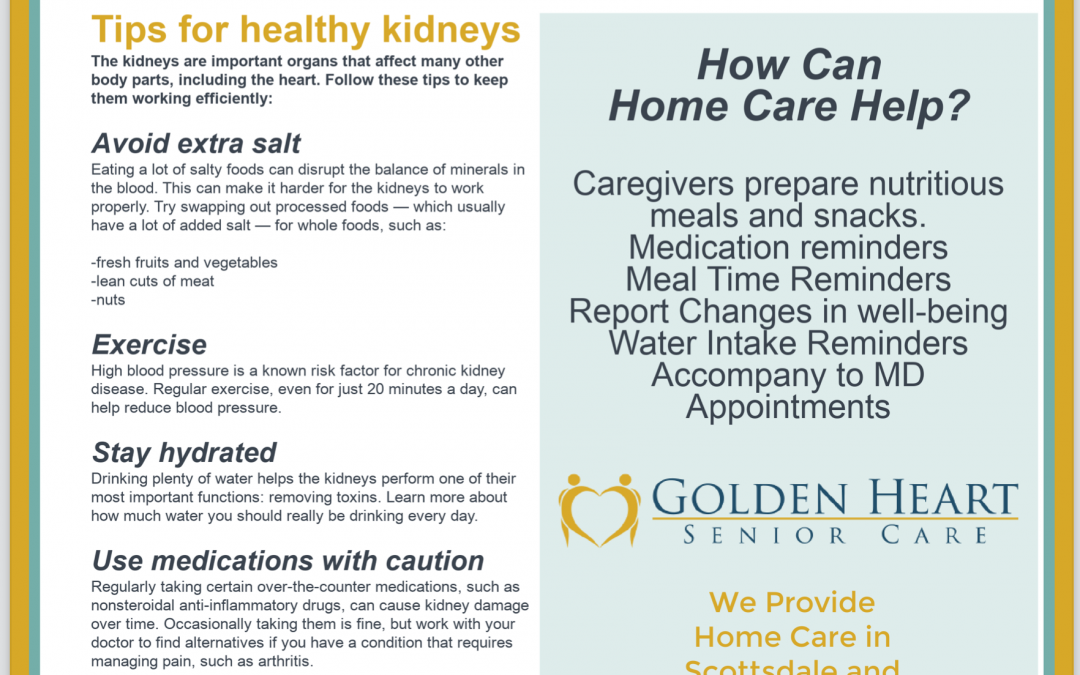 March is National Kidney Month! Are Your Kidneys Healthy?