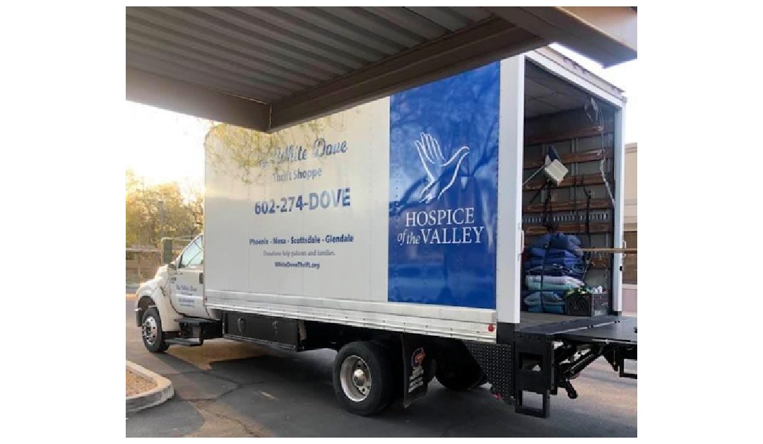 Golden Heart donates to Hospice of the Valley