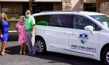 Golden Heart Announces Strategic Partnership with AZ Care Transport!