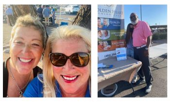 Golden Heart joins 4C Medical Group for a great event in beautiful Fountain Hills!