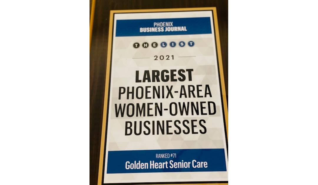 Big News! Golden Heart Makes the List!